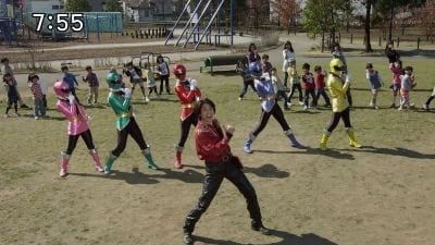 Super Sentai Season 35 :Episode 14  Practicing Traffic Safety Even Now