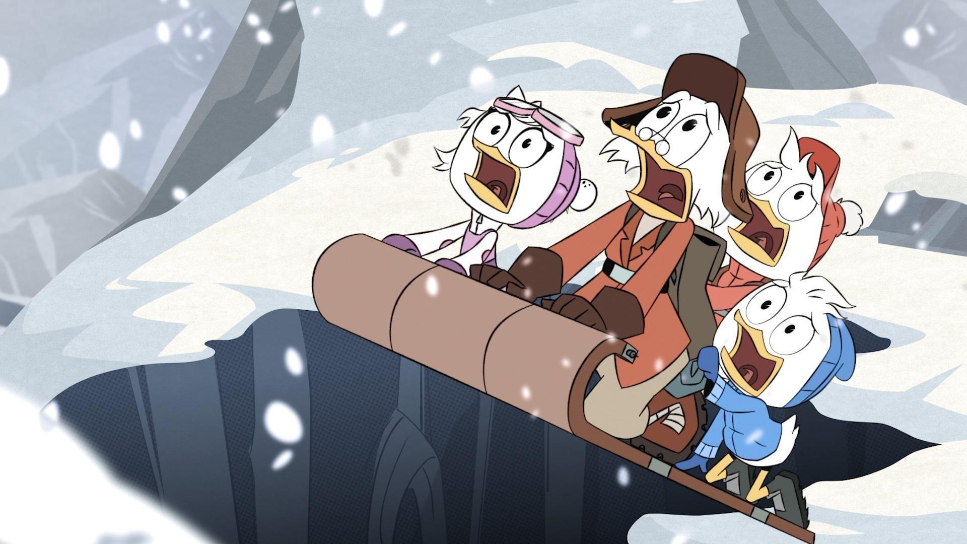 DuckTales Season 1 :Episode 9  The Impossible Summit of Mt. Neverrest