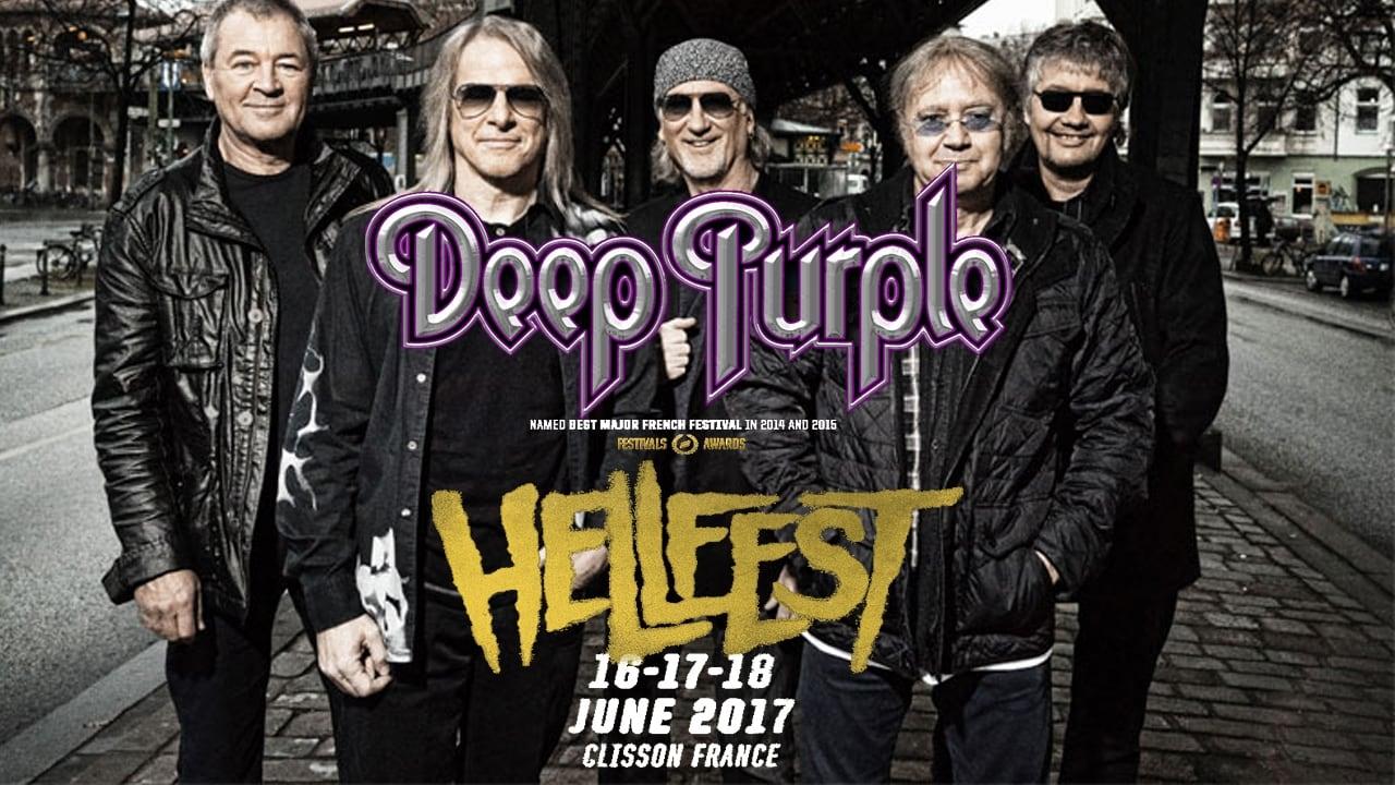 Deep Purple au Hellfest 2017