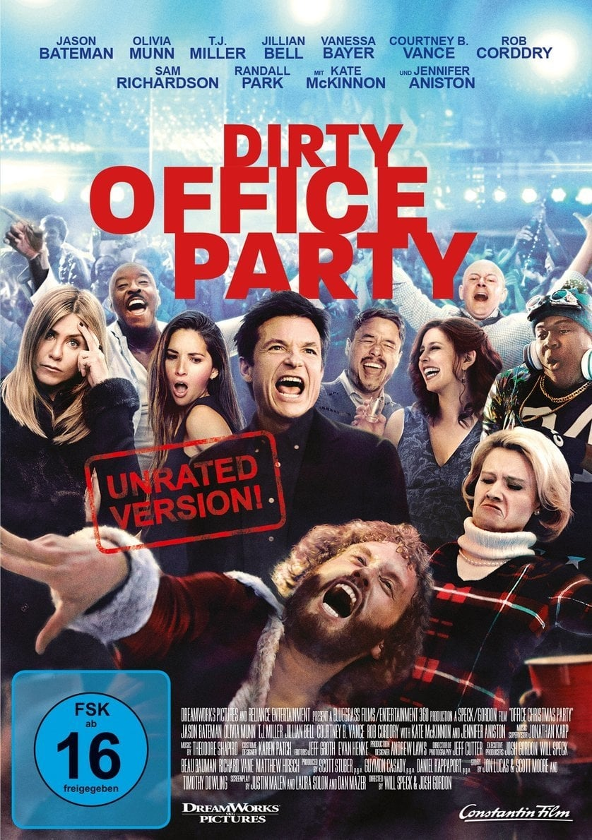Office Christmas Party (2016) - Posters — The Movie Database (TMDb)