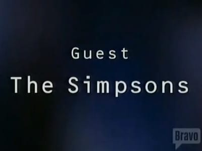 The Simpsons Season 0 :Episode 55  Inside the actors' studio