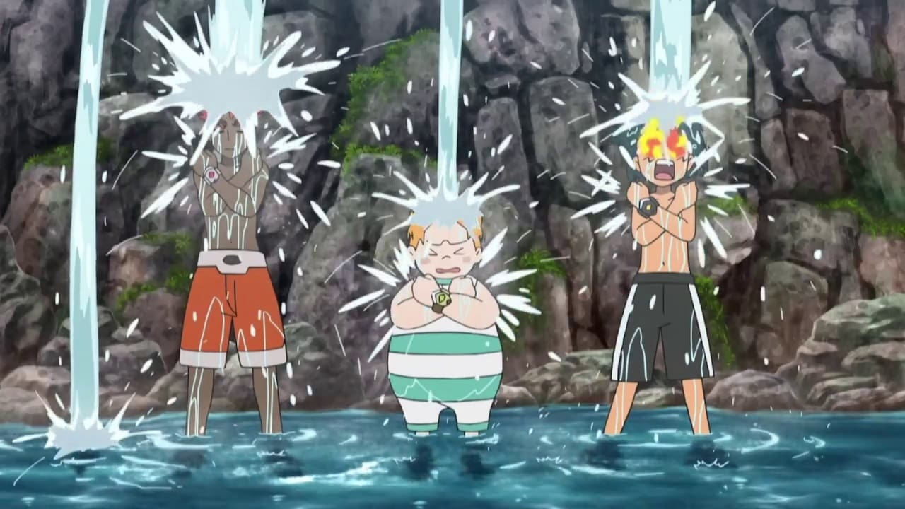 Pokémon - Season 22 Episode 31 : A Fiery Training Camp Trick!