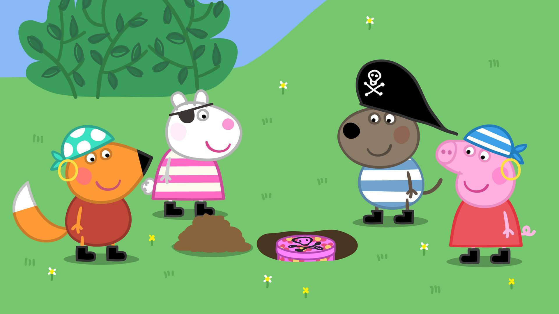 Peppa Pig Season 4 :Episode 52  Pirate Treasure