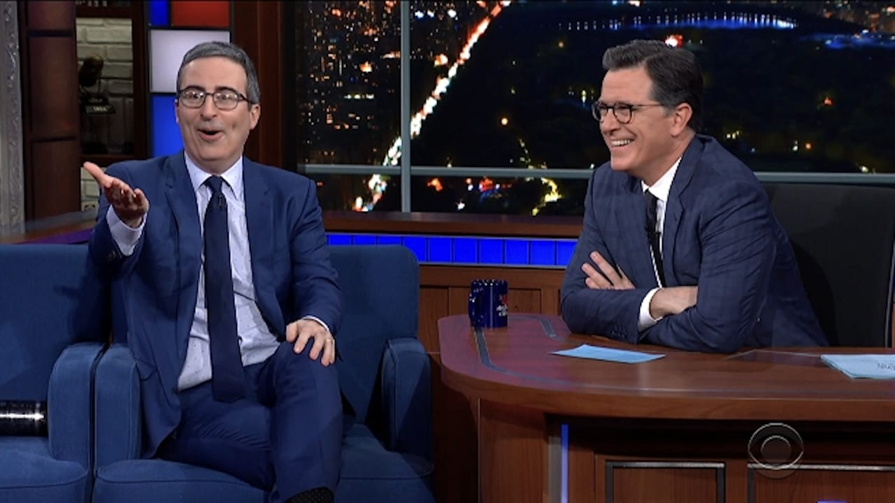 The Late Show with Stephen Colbert Season 5 :Episode 87  John Oliver / Alex Ebert