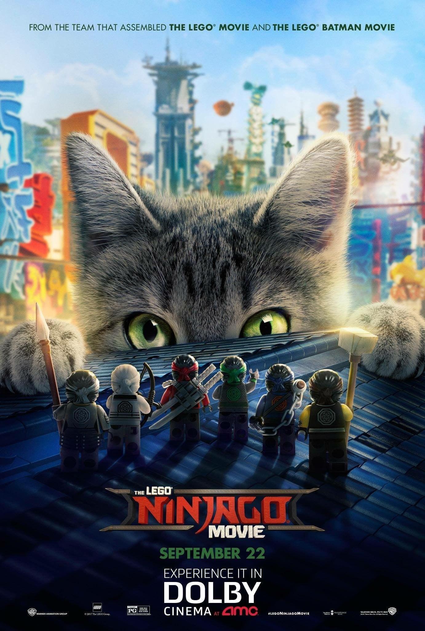 LEGO NINJAGO: LA PELICULA (2017) HD 720P LATINO/INGLES