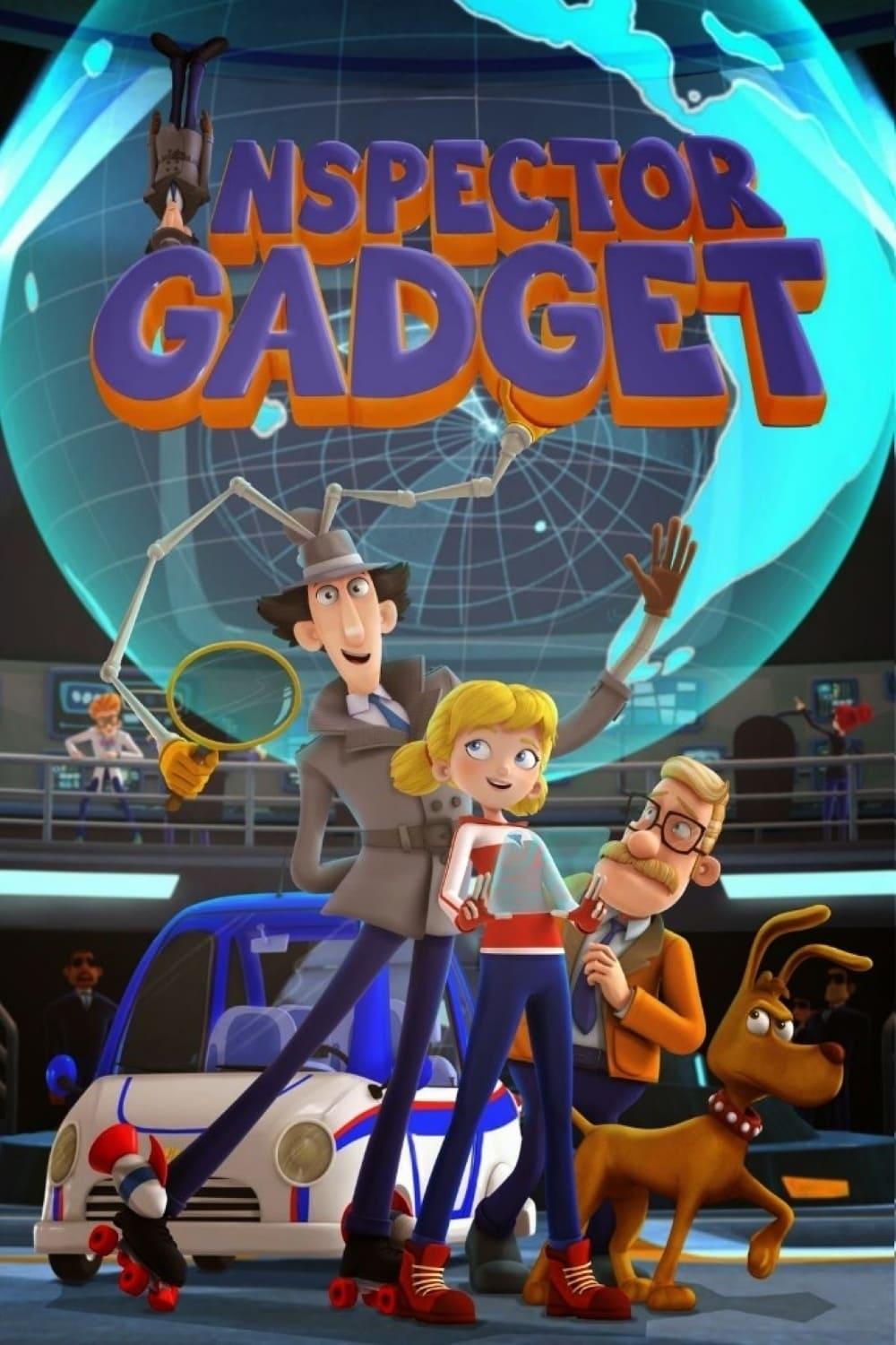 Inspector Gadget TV Shows About Cyborg