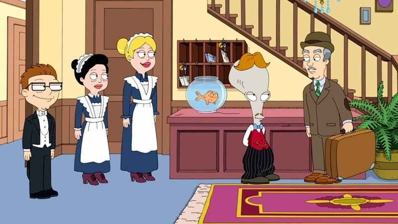 American Dad! Season 12 :Episode 4  Big Stan on Campus