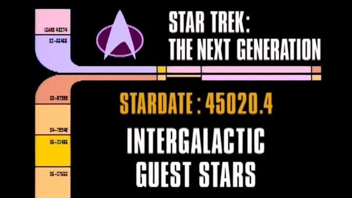 Archival Mission Log: Year Five - Intergalactic Guest Stars-Azwaad Movie Database
