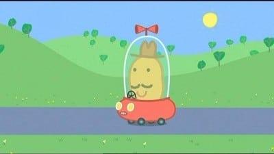 Peppa Pig Season 3 :Episode 17  Mr Potato Comes To Town