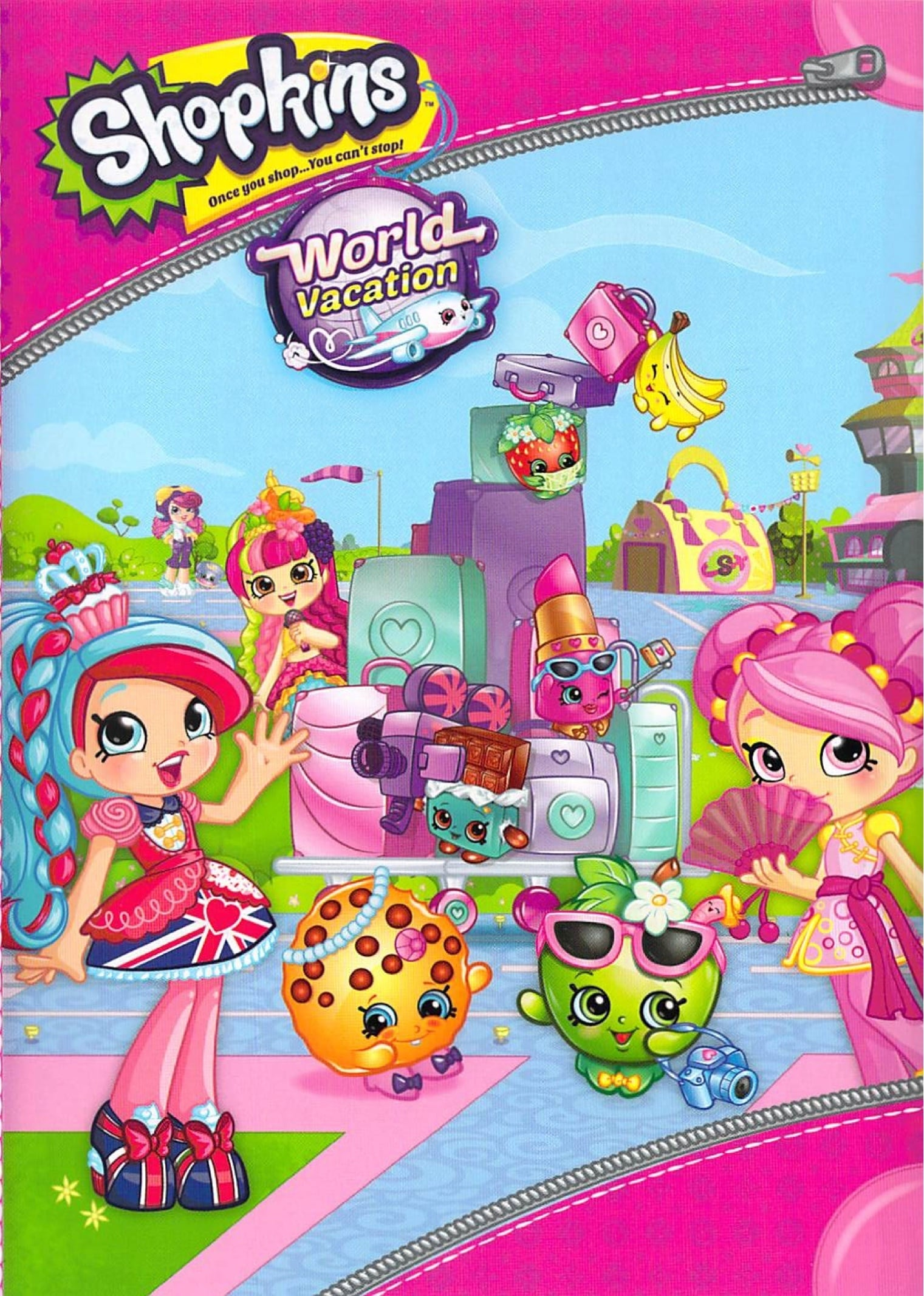 watch Shopkins World Vacation 2017 online free