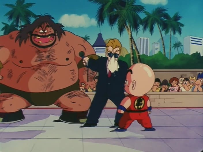 Dragon Ball Season 1 :Episode 21  Watch Out! Kuririn