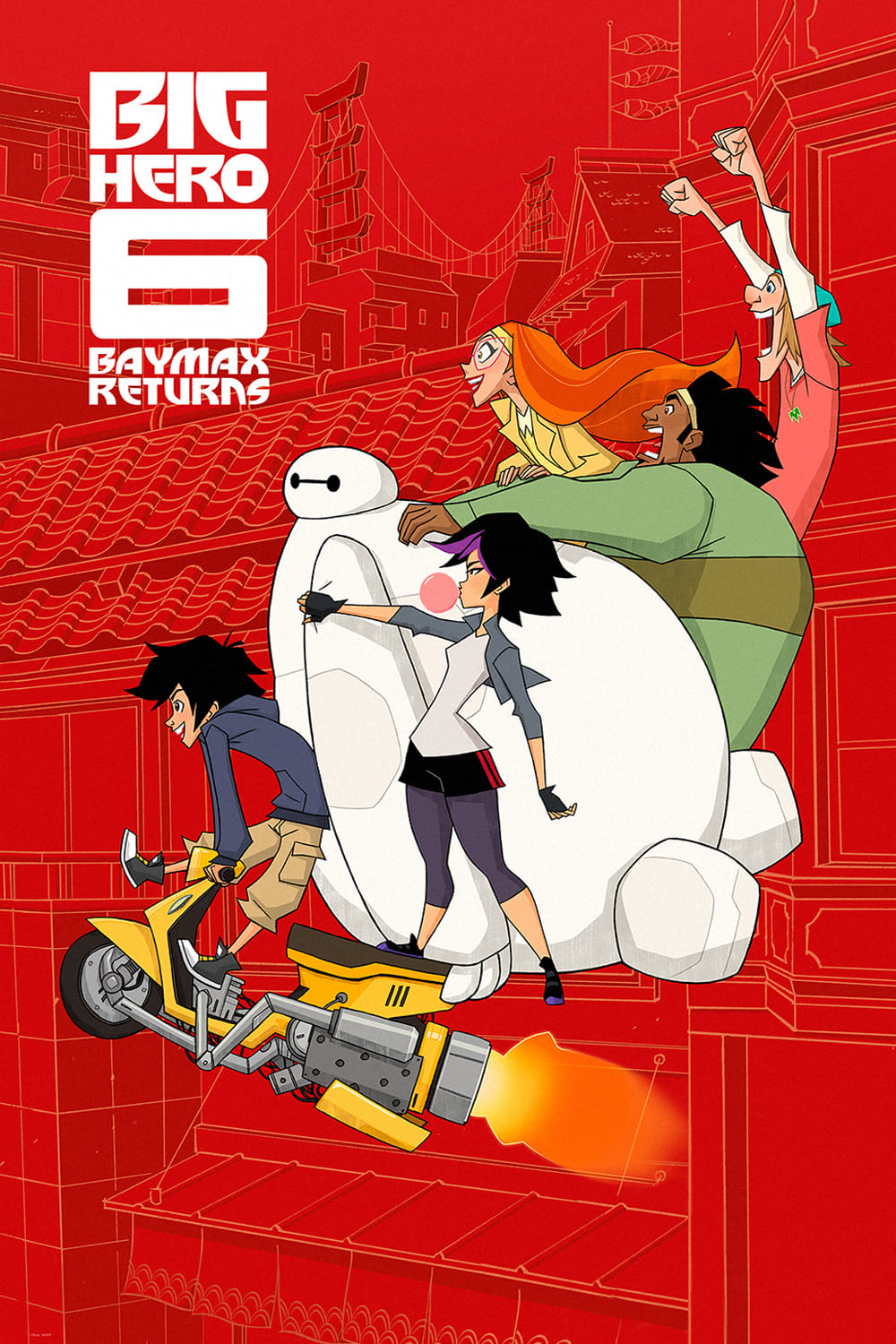 Ver Big Hero 6: Baymax Returns Online HD Español ()