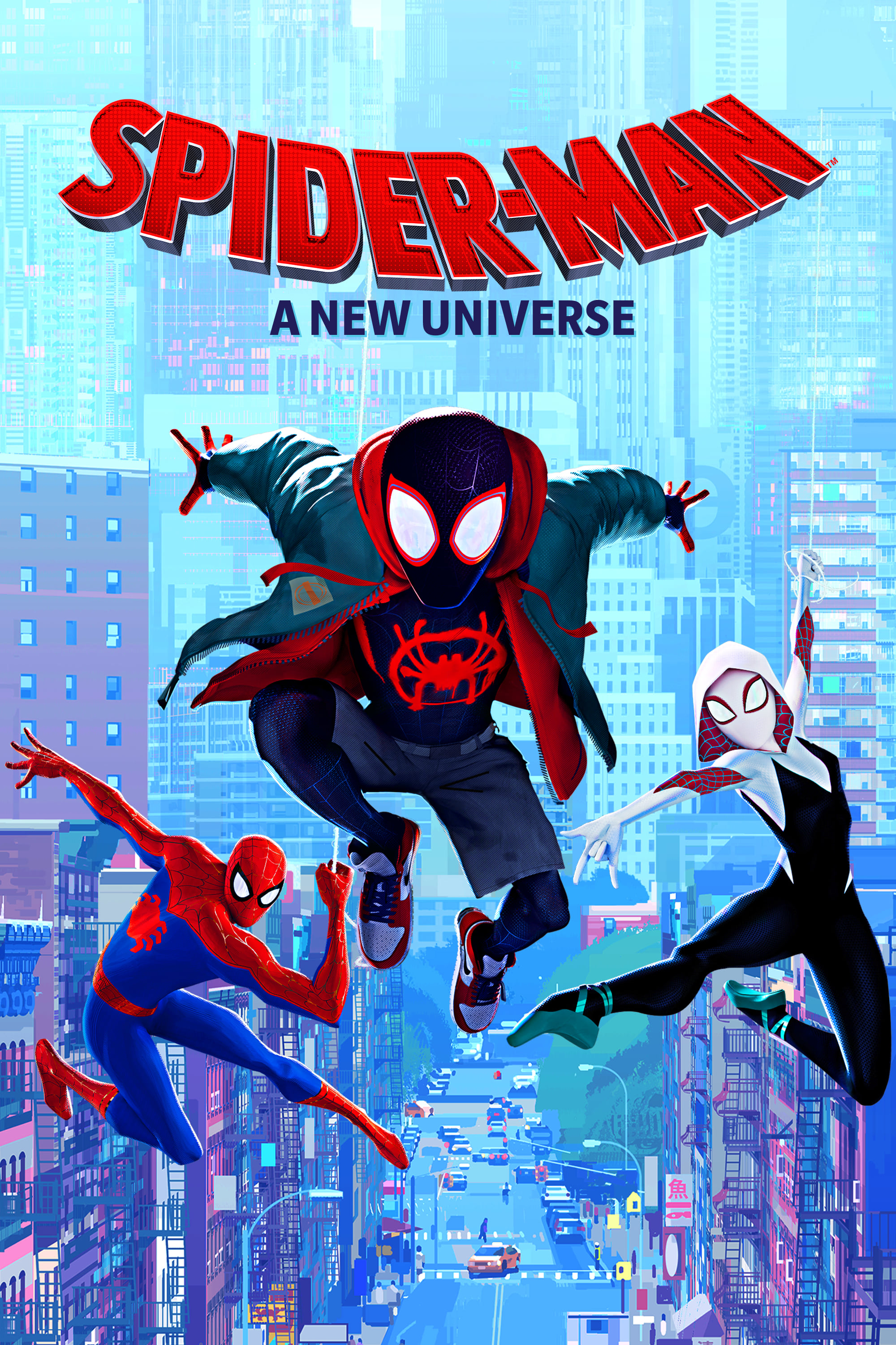 spiderman a new universe stream
