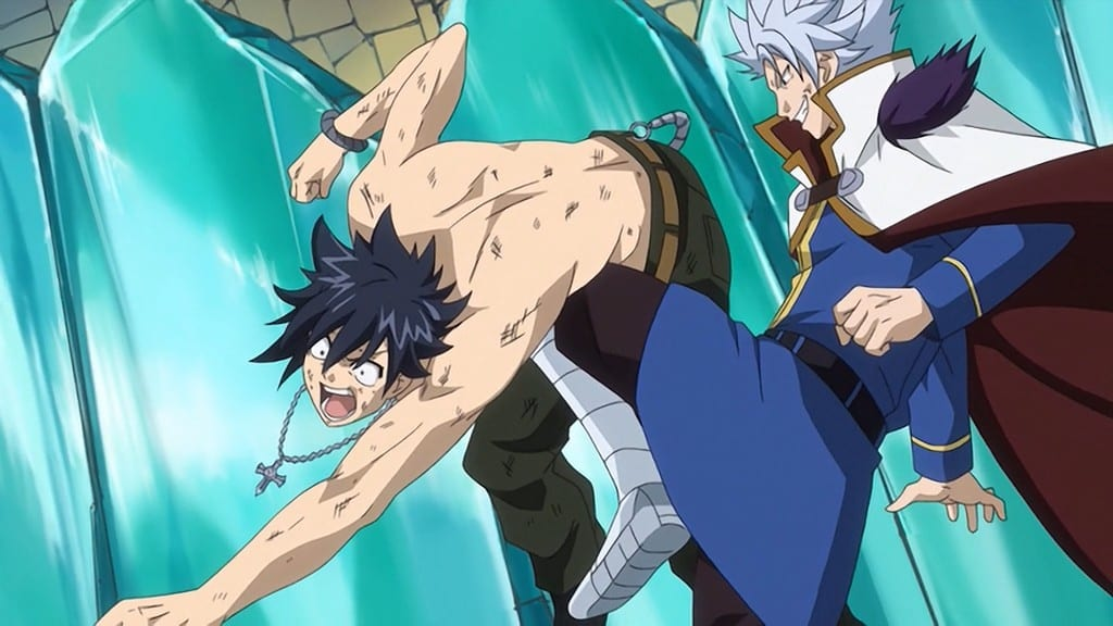 Fairy Tail Season 1 :Episode 16  The Final Showdown on Galuna Island