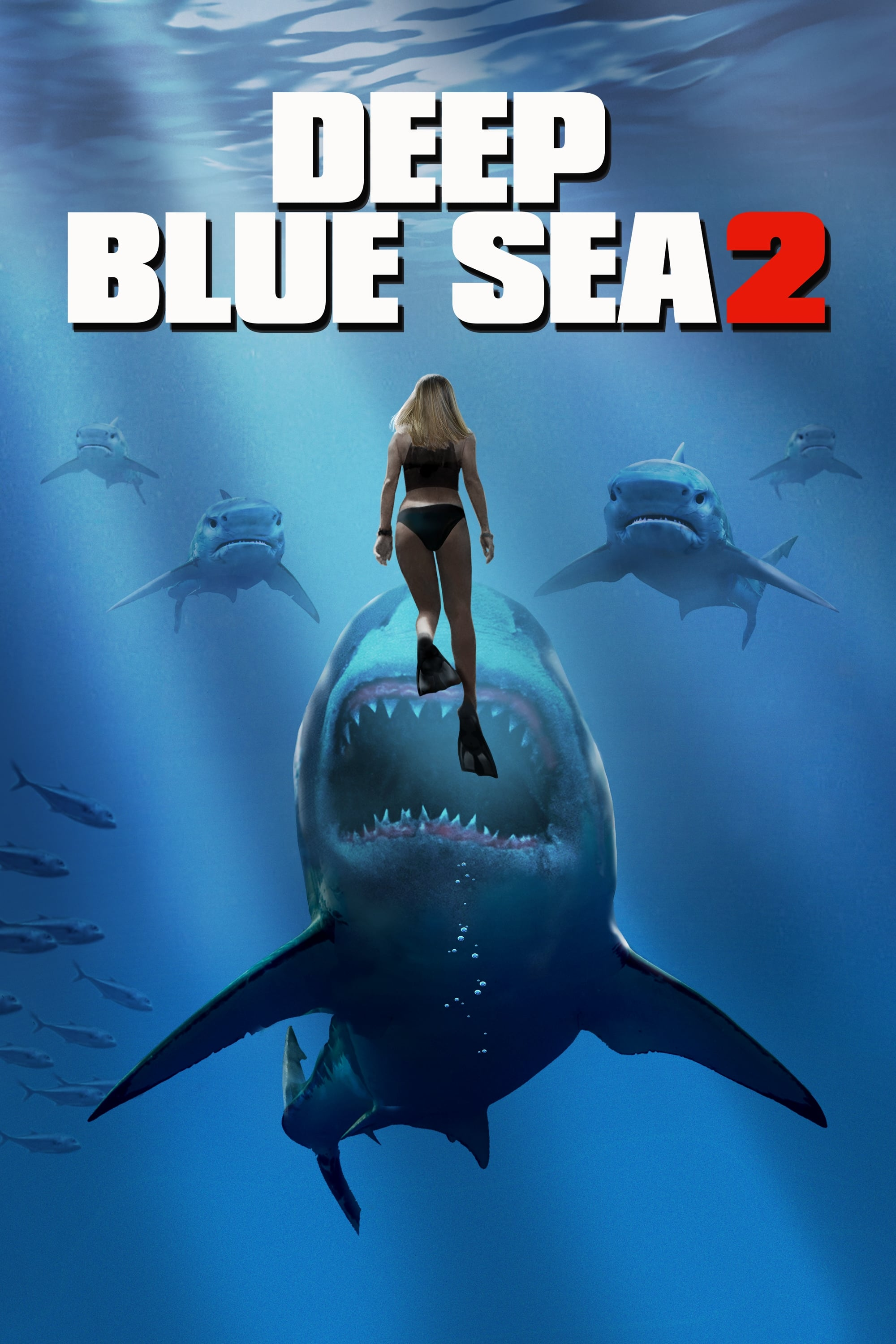 Póster Deep Blue Sea 2