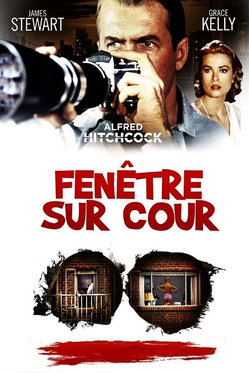 Fen tre sur cour 1954 le film for Fenetre sur cour film