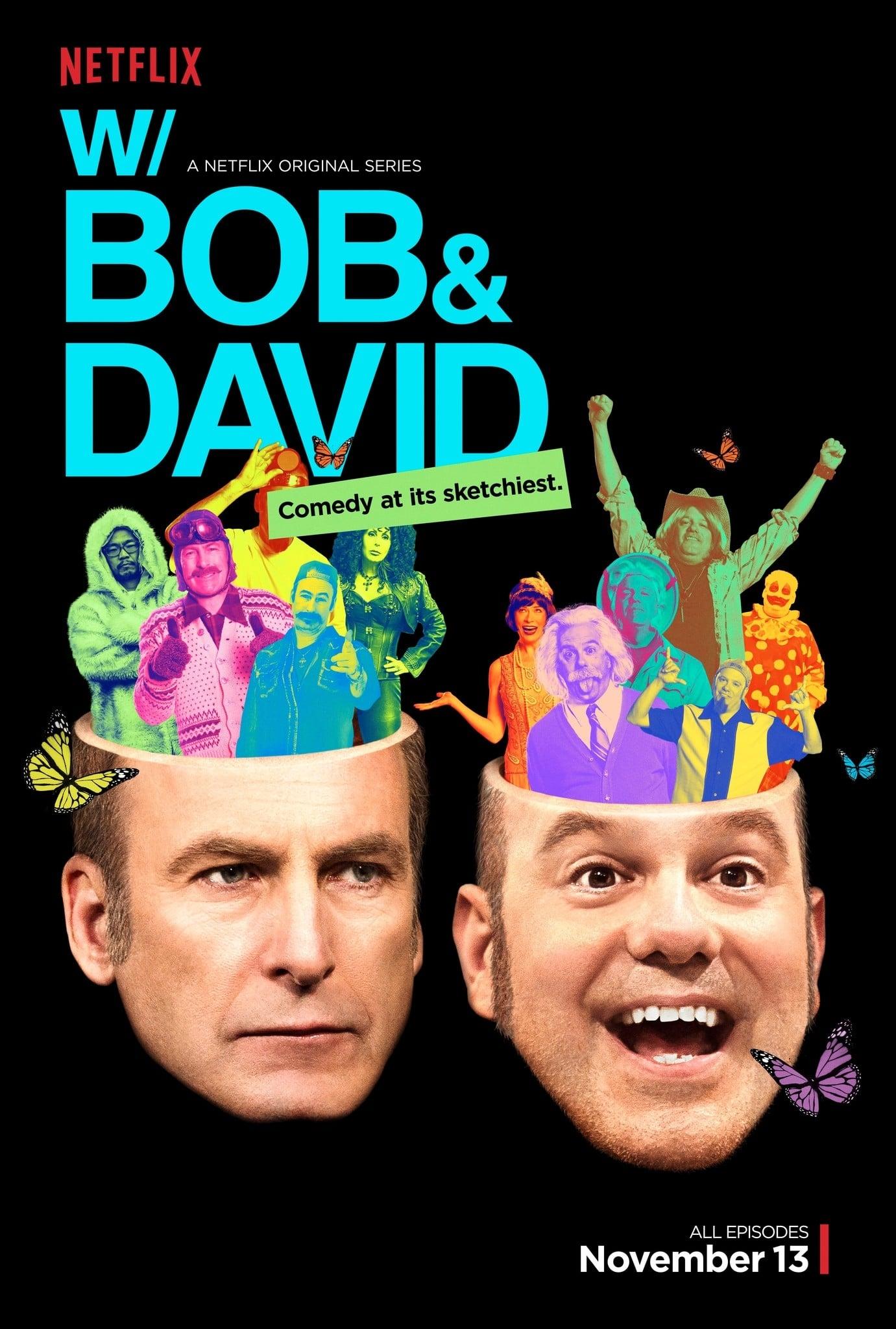 With Bob and David