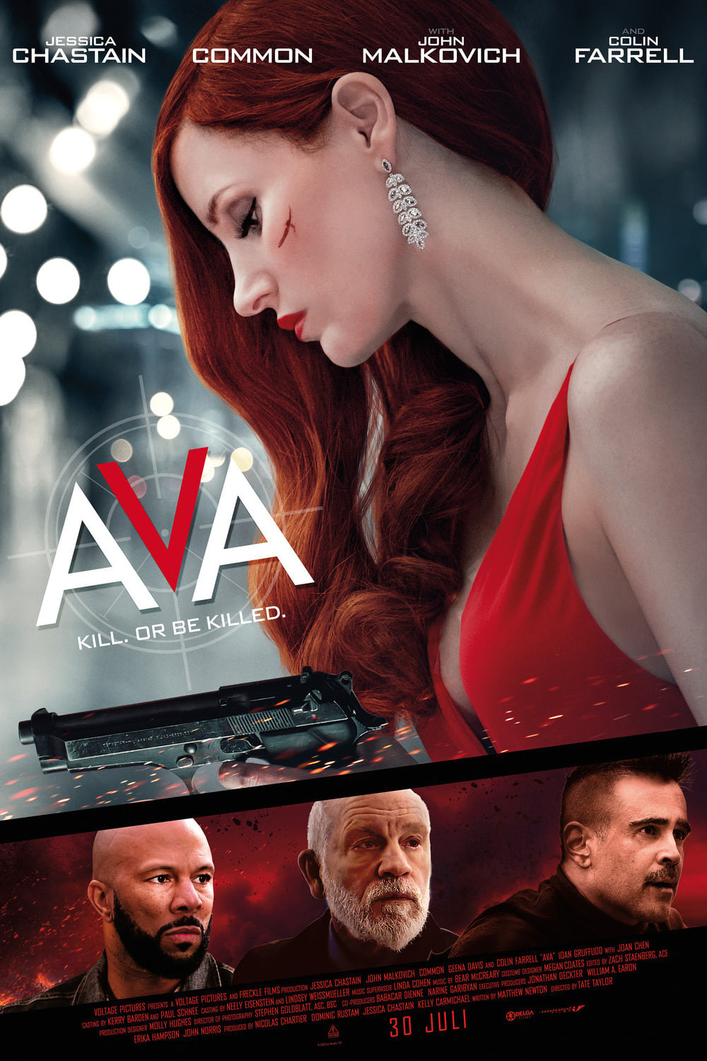 Poster and image movie Ava