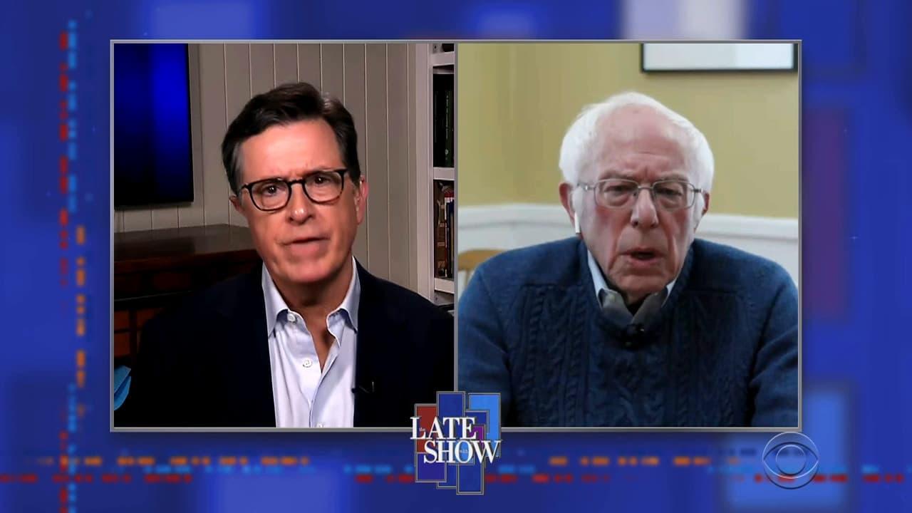 The Late Show with Stephen Colbert Season 5 :Episode 111  Senator Bernie Sanders / Brandi Carlile