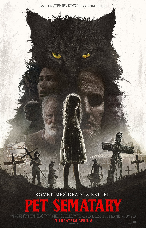 Poster and image movie Film Pet Sematary - Pet Sematary -  2019