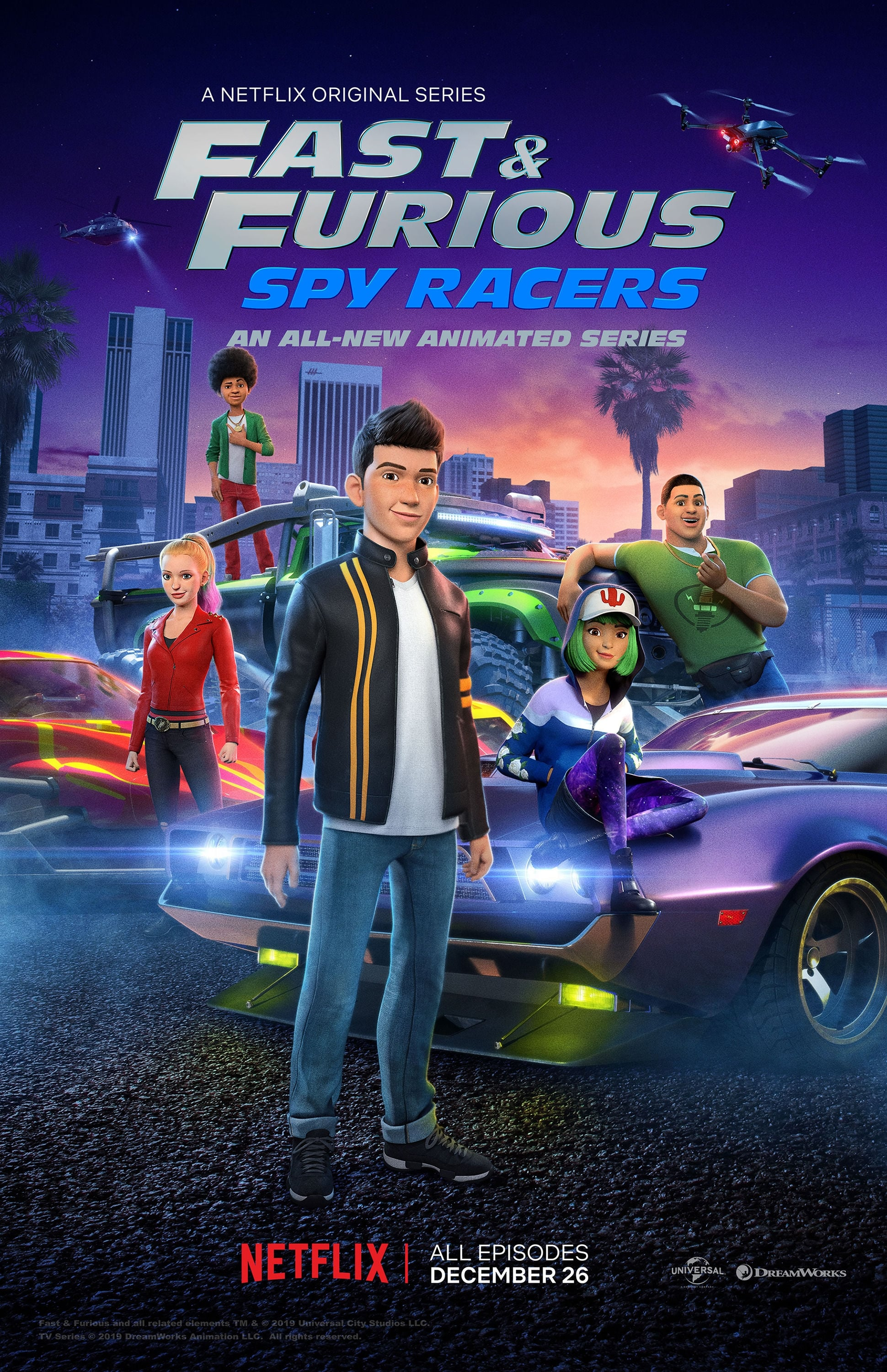 Fast & Furious Spy Racers S1 (2019) Dubbing Indonesia