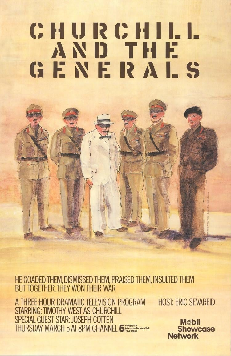 Ver Churchill and the Generals Online HD Español (1981)