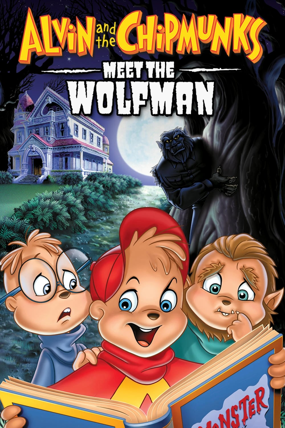 chipmunks meet the wolfman part 1