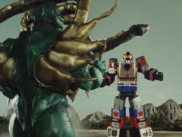 Super Sentai Season 14 :Episode 20  Fire Up, Sibling Robot!