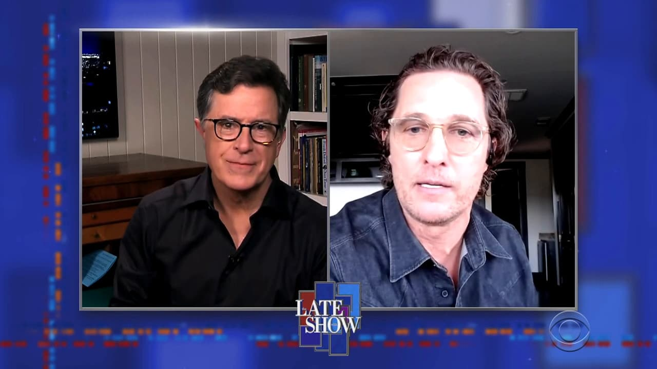 The Late Show with Stephen Colbert Season 5 :Episode 113  Matthew McConaughey / Sam Hunt