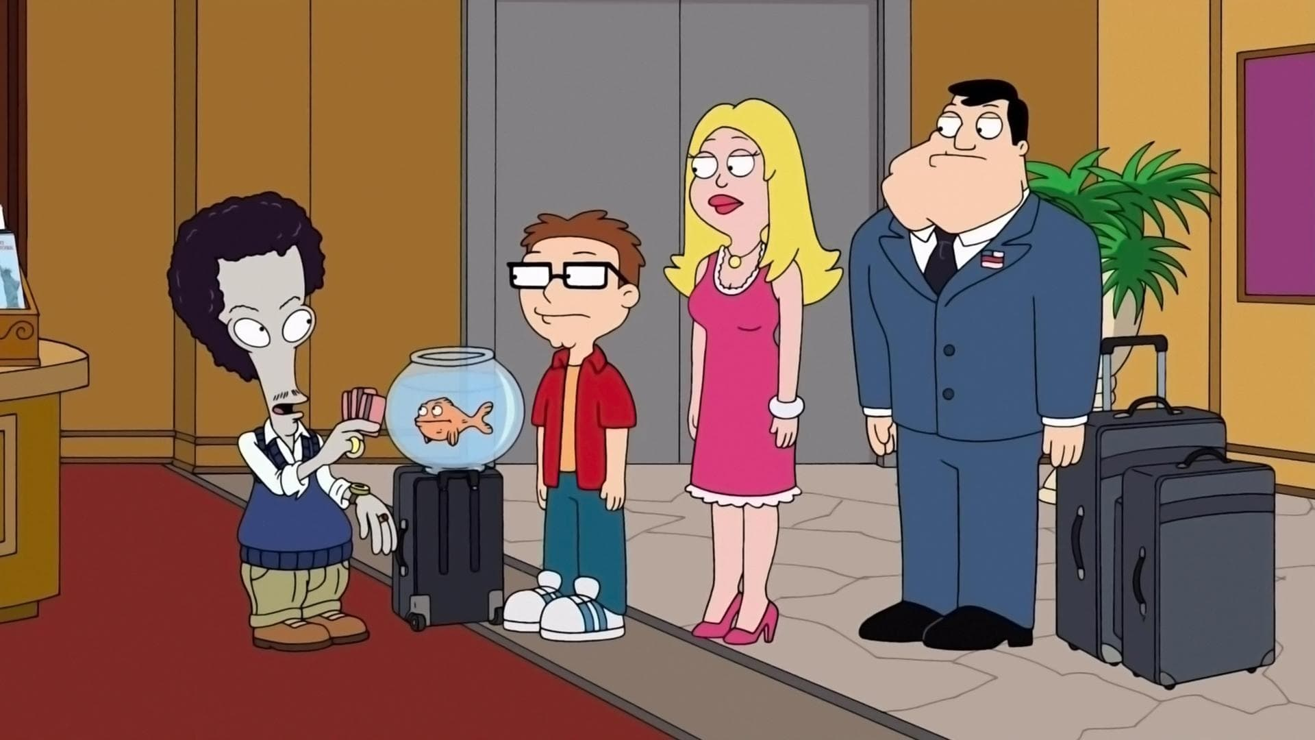American Dad! Season 7 :Episode 9  Fart-break Hotel