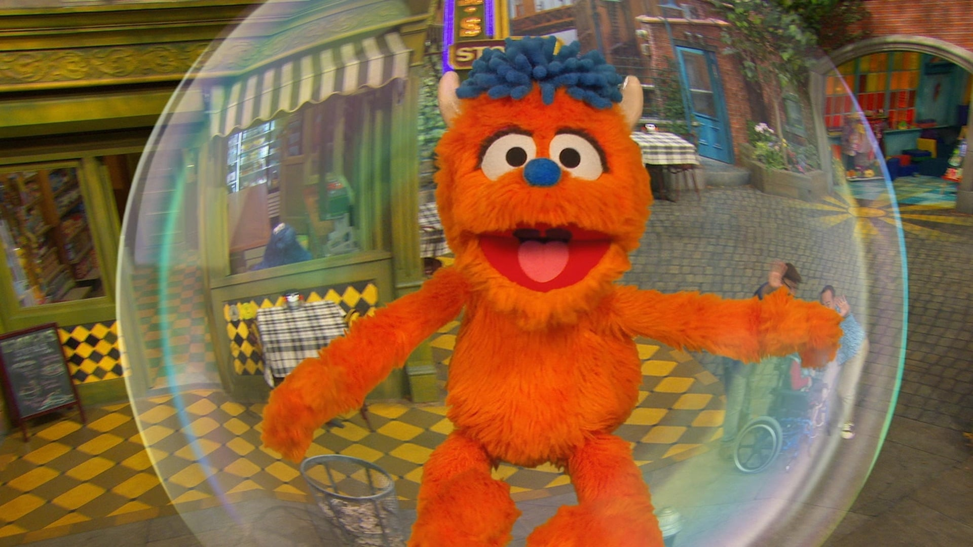 Sesame Street Season 50 :Episode 31  Rudy Blows His First Bubble