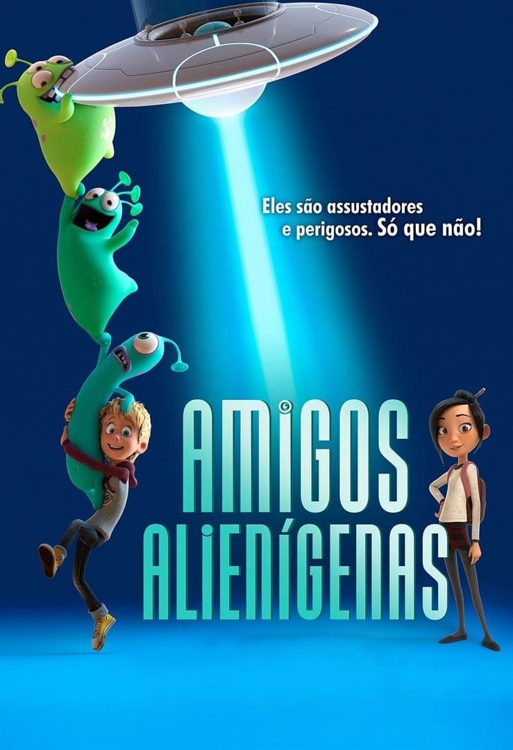 Amigos Alienígenas Dublado