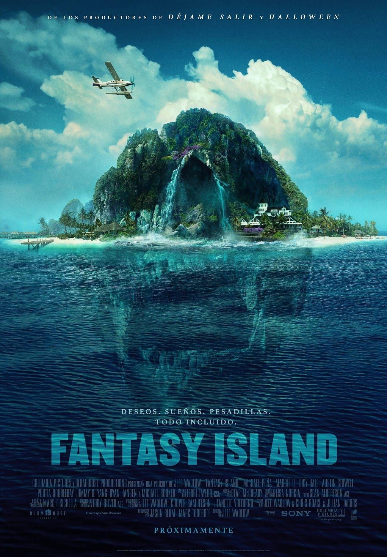 Poster diminuto de La isla de la Fantasia