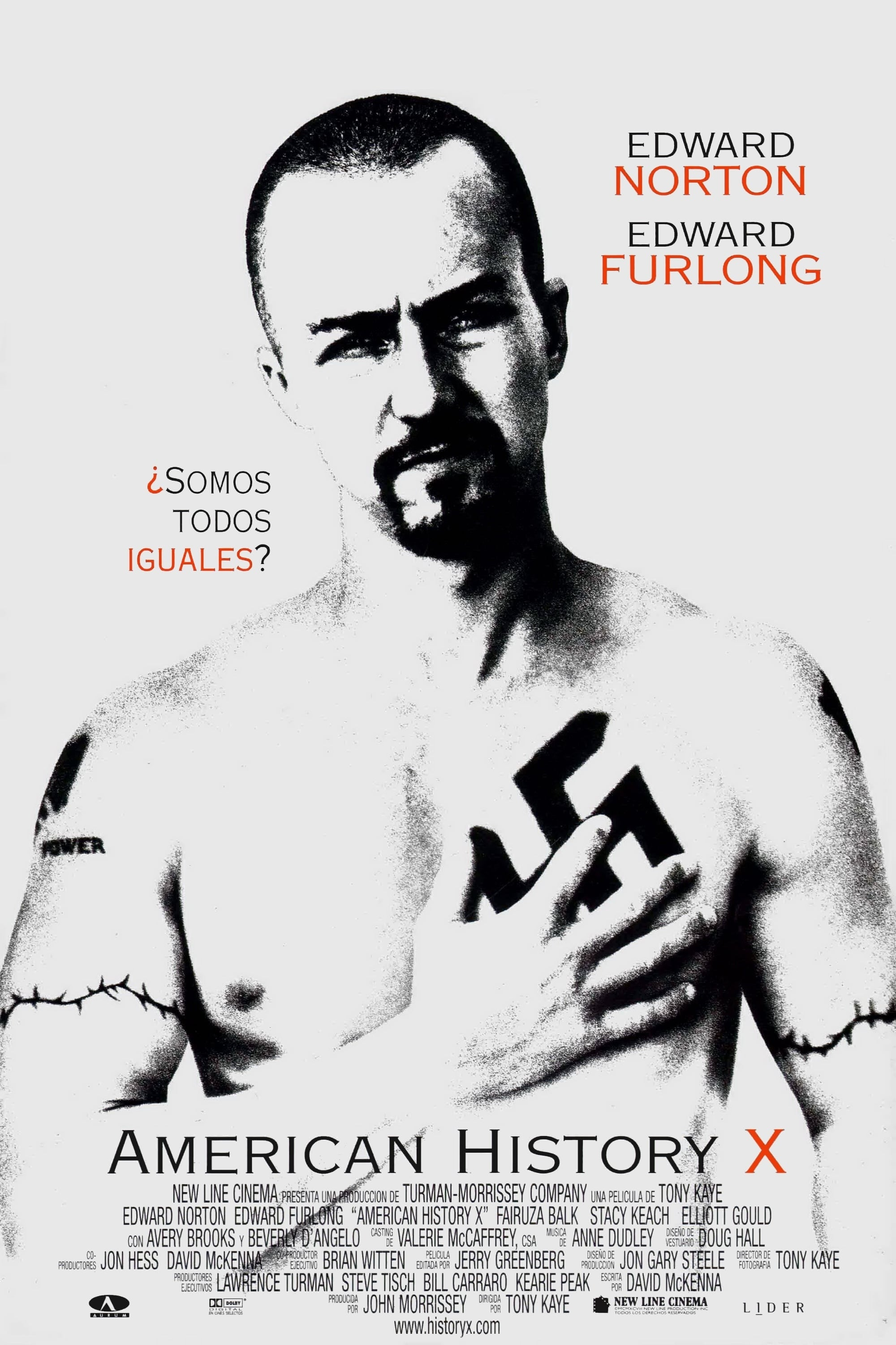 Poster and image movie Film Povestea X a Americii - American History X - American History X - American History X -  1998