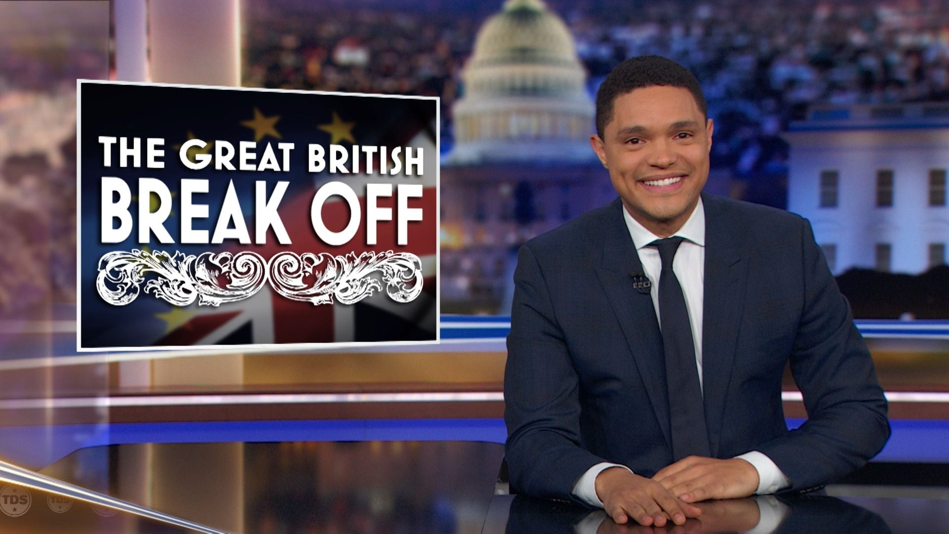 The Daily Show with Trevor Noah Season 24 :Episode 45  Keegan-Michael Key