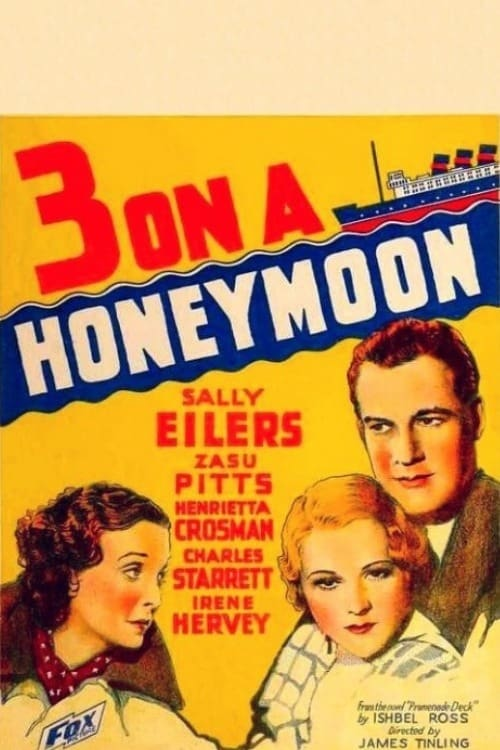 Ver Three on a Honeymoon Online HD Español (1934)