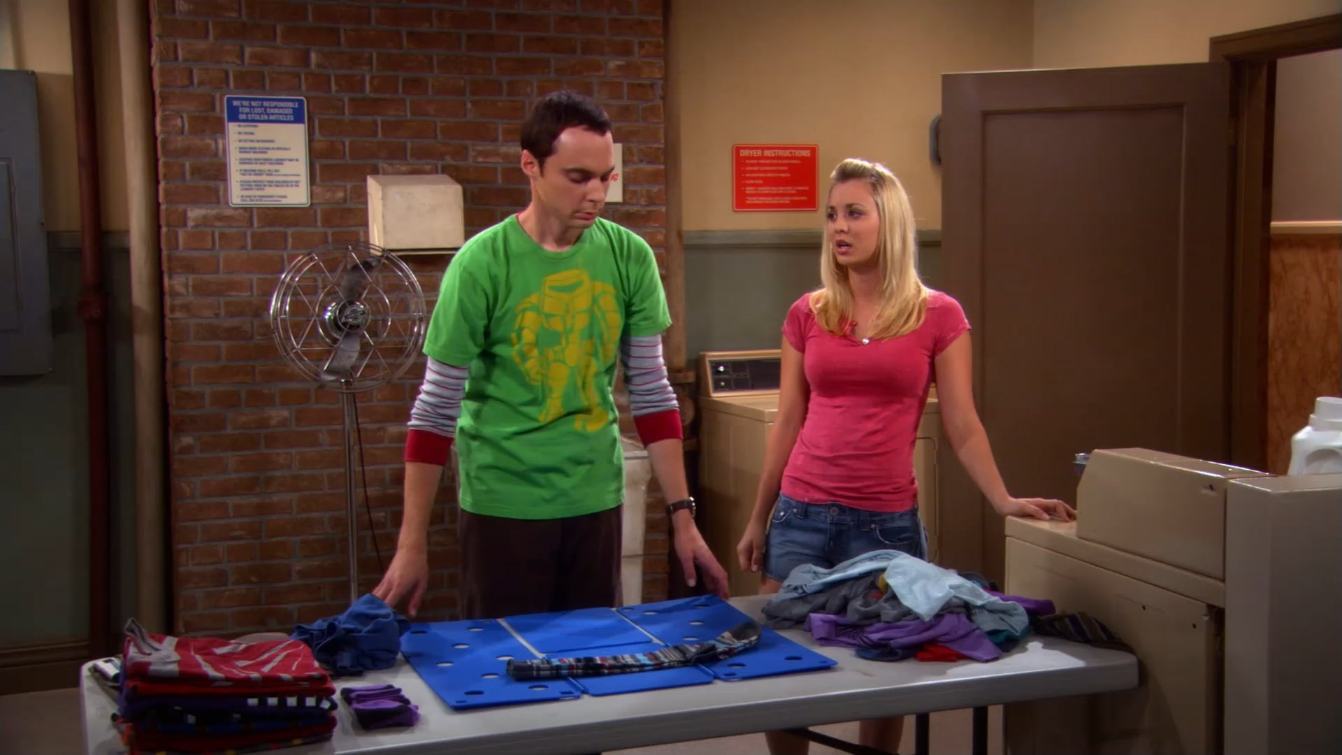 The Big Bang Theory Season 2 :Episode 1  The Bad Fish Paradigm