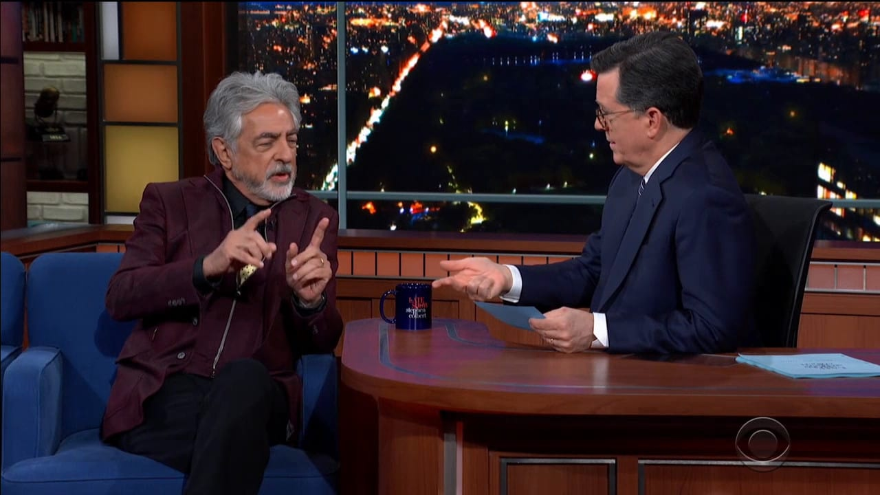 The Late Show with Stephen Colbert Season 5 :Episode 86  Joe Mantegna / Coyote Peterson