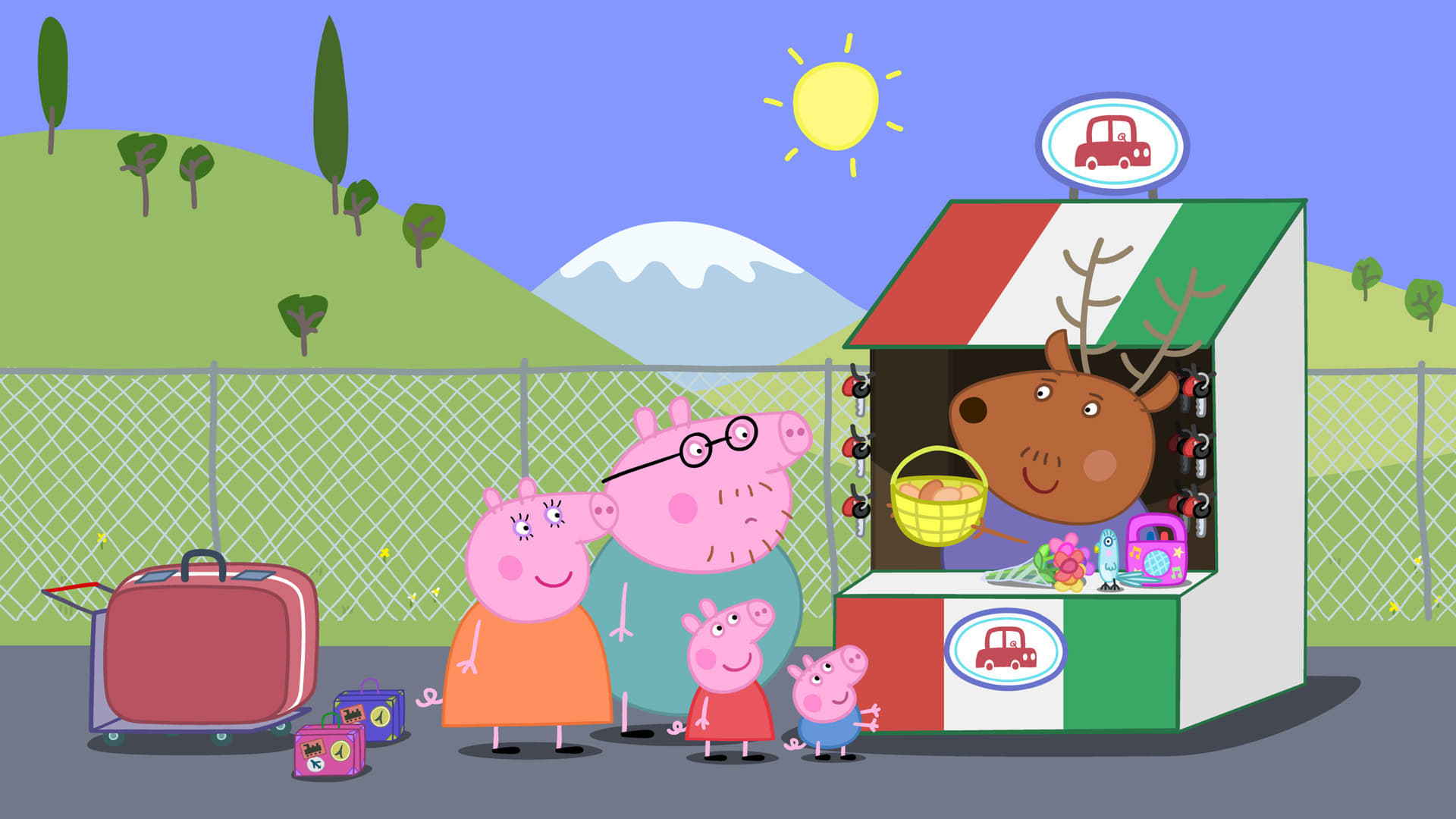 Peppa Pig Season 4 :Episode 37  The Holiday House
