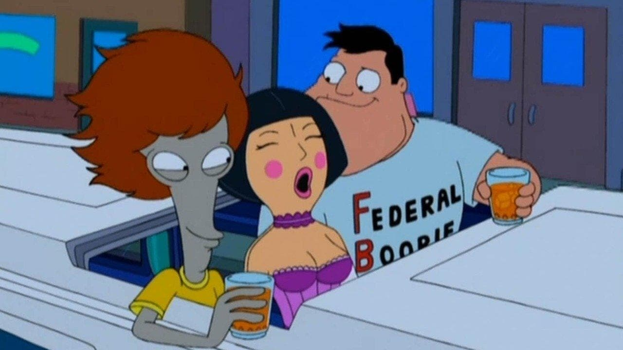 American Dad! Season 2 :Episode 13  Roger 'n Me