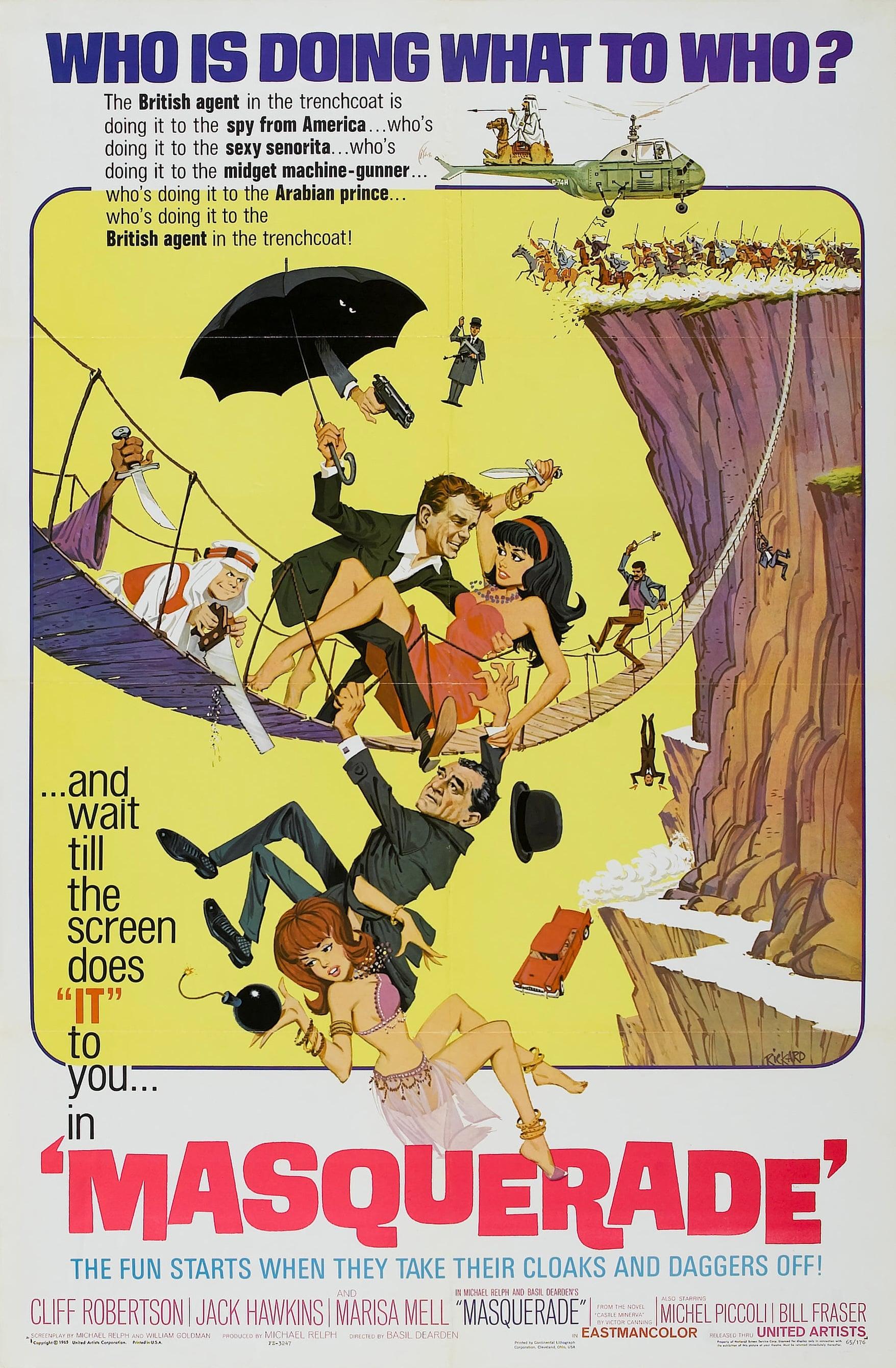 Ver Agentes dobles Online HD Español (1965)