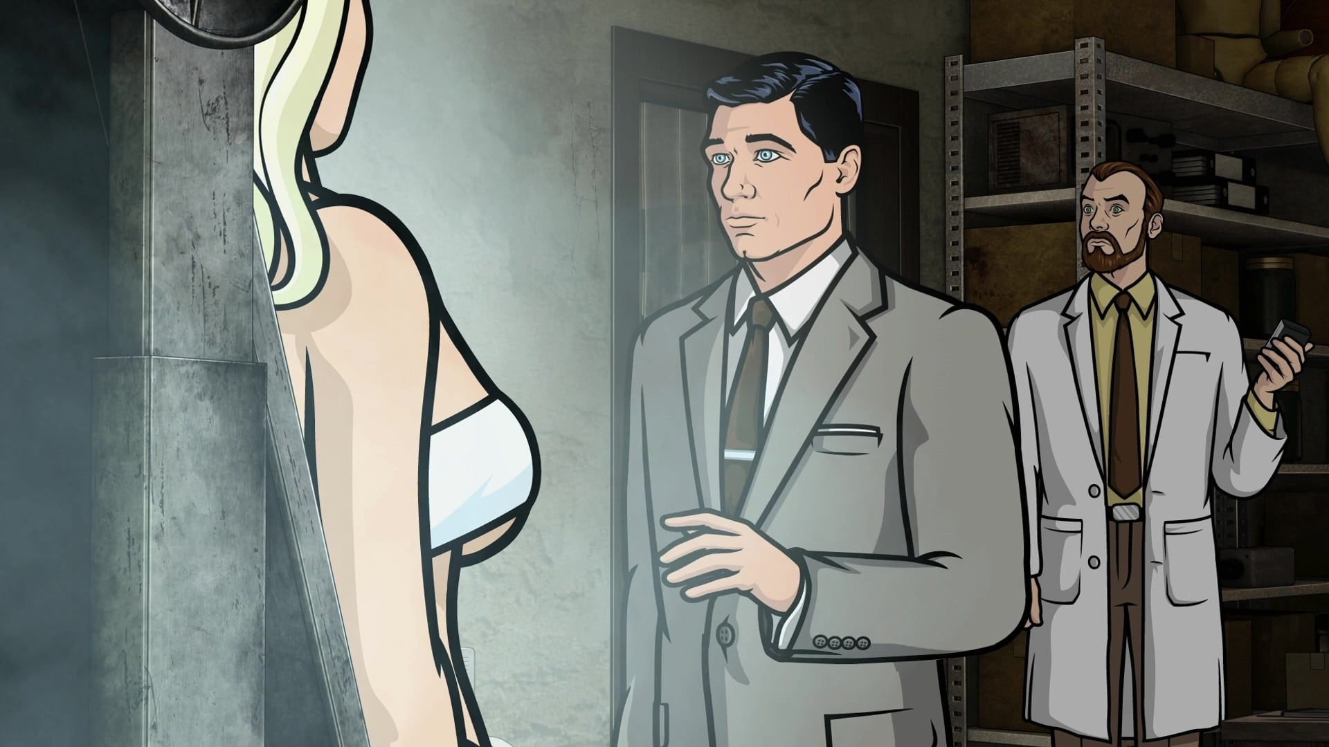 Archer Season 3 :Episode 8  Skin Game