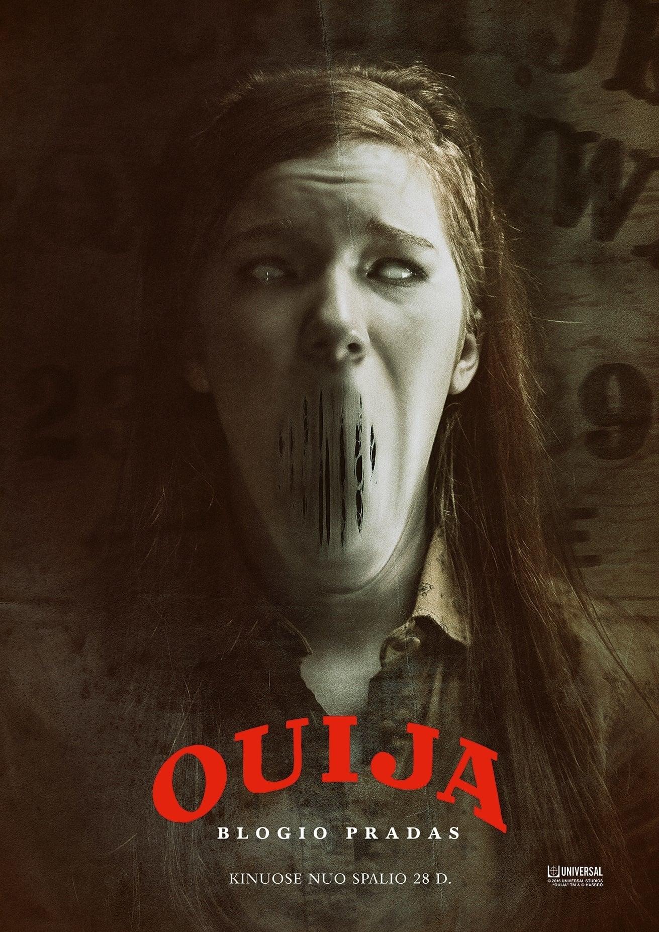 Ouija: Blogio pradas