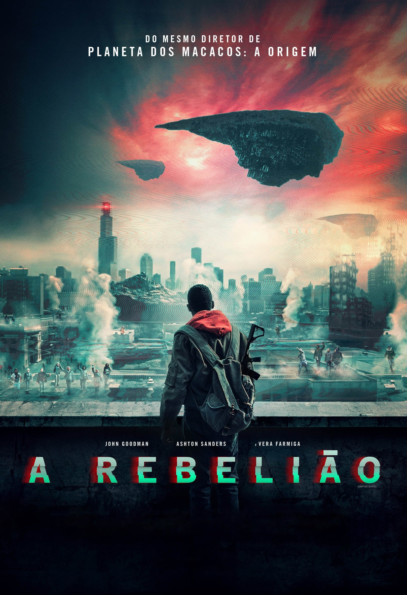 A Rebelião poster, capa, cartaz