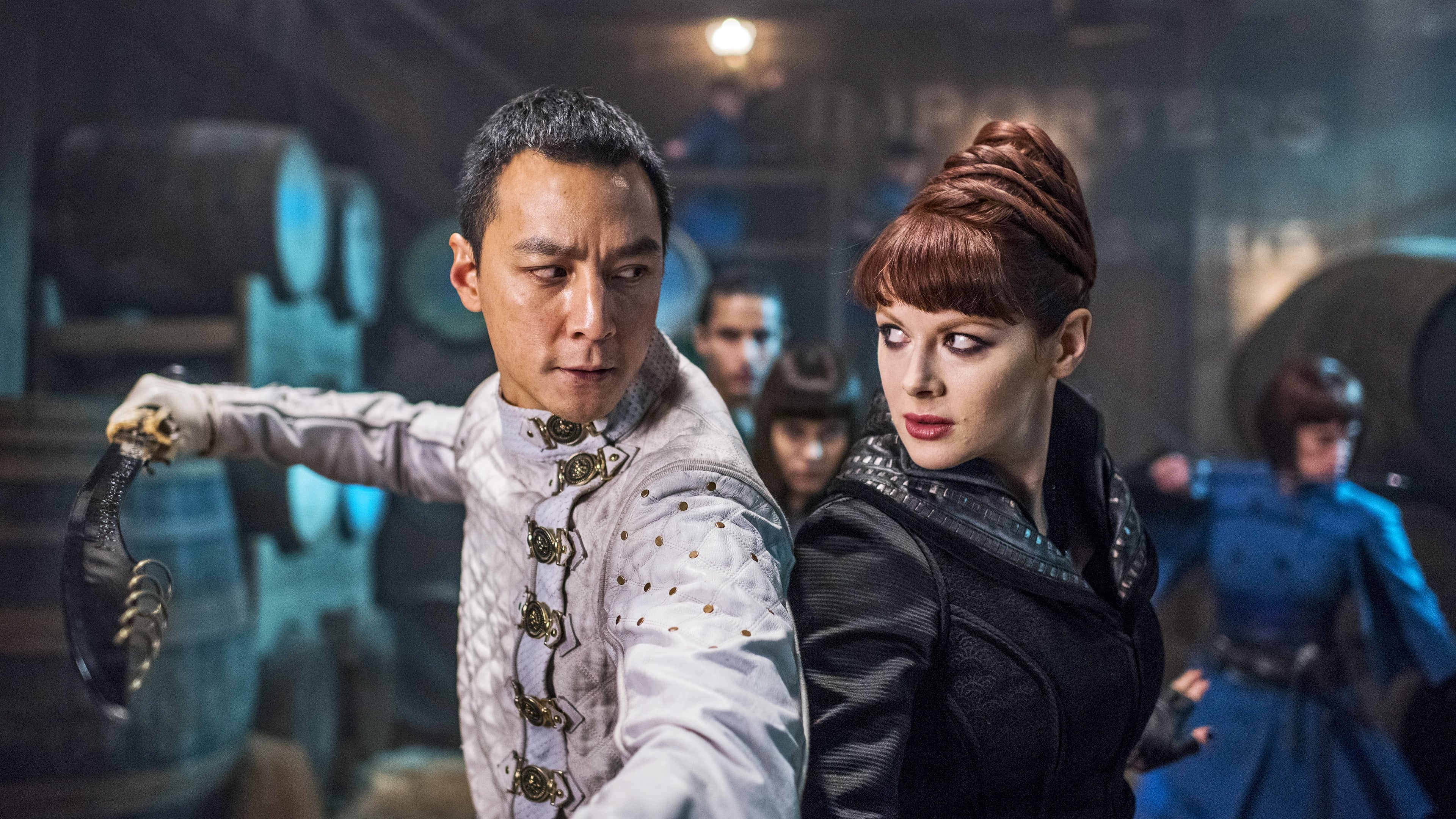 Into the Badlands Season 2 :Episode 8  Sting of the Scorpion's Tail