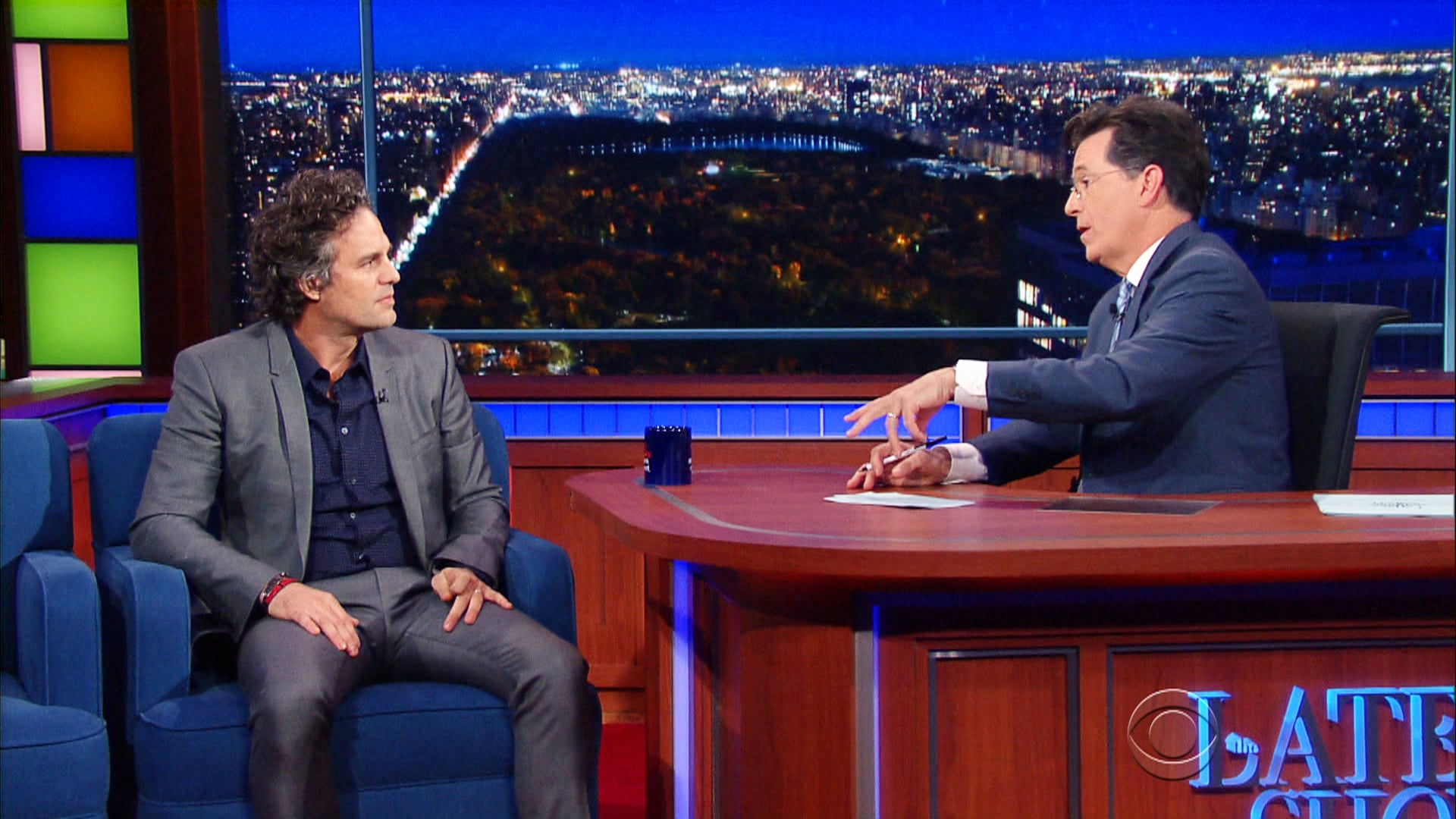 The Late Show with Stephen Colbert Season 1 :Episode 44  Mark Ruffalo, John Cleese, Michael Flatley