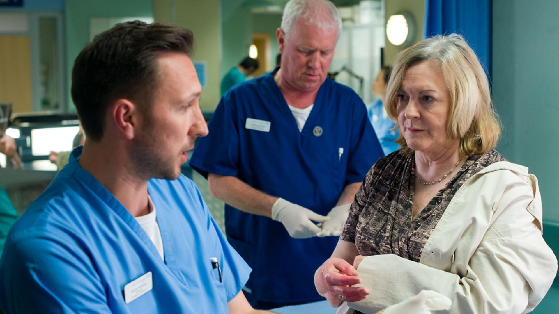 Casualty Season 28 :Episode 10  The Memory of Water