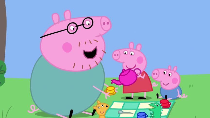 Peppa Pig Season 6 :Episode 8  Fathers Day