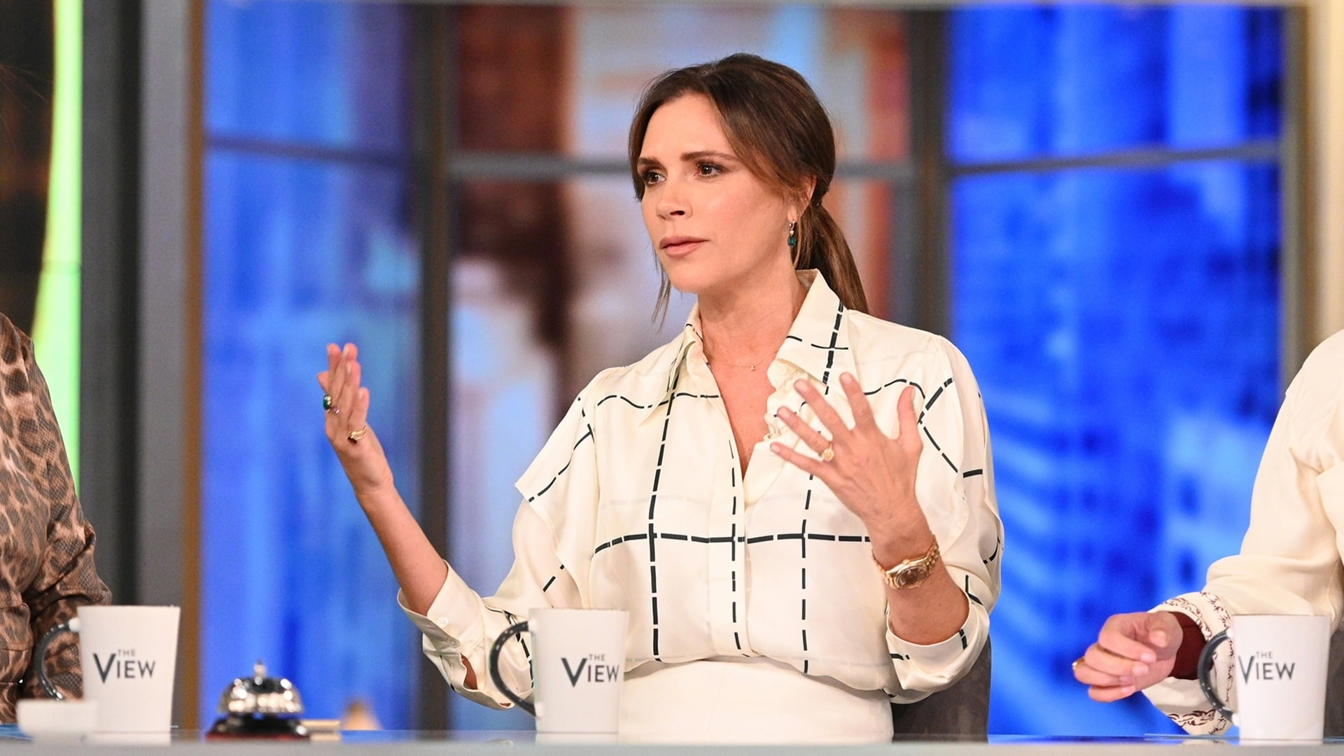 The View Season 23 :Episode 34  Victoria Beckham and Common