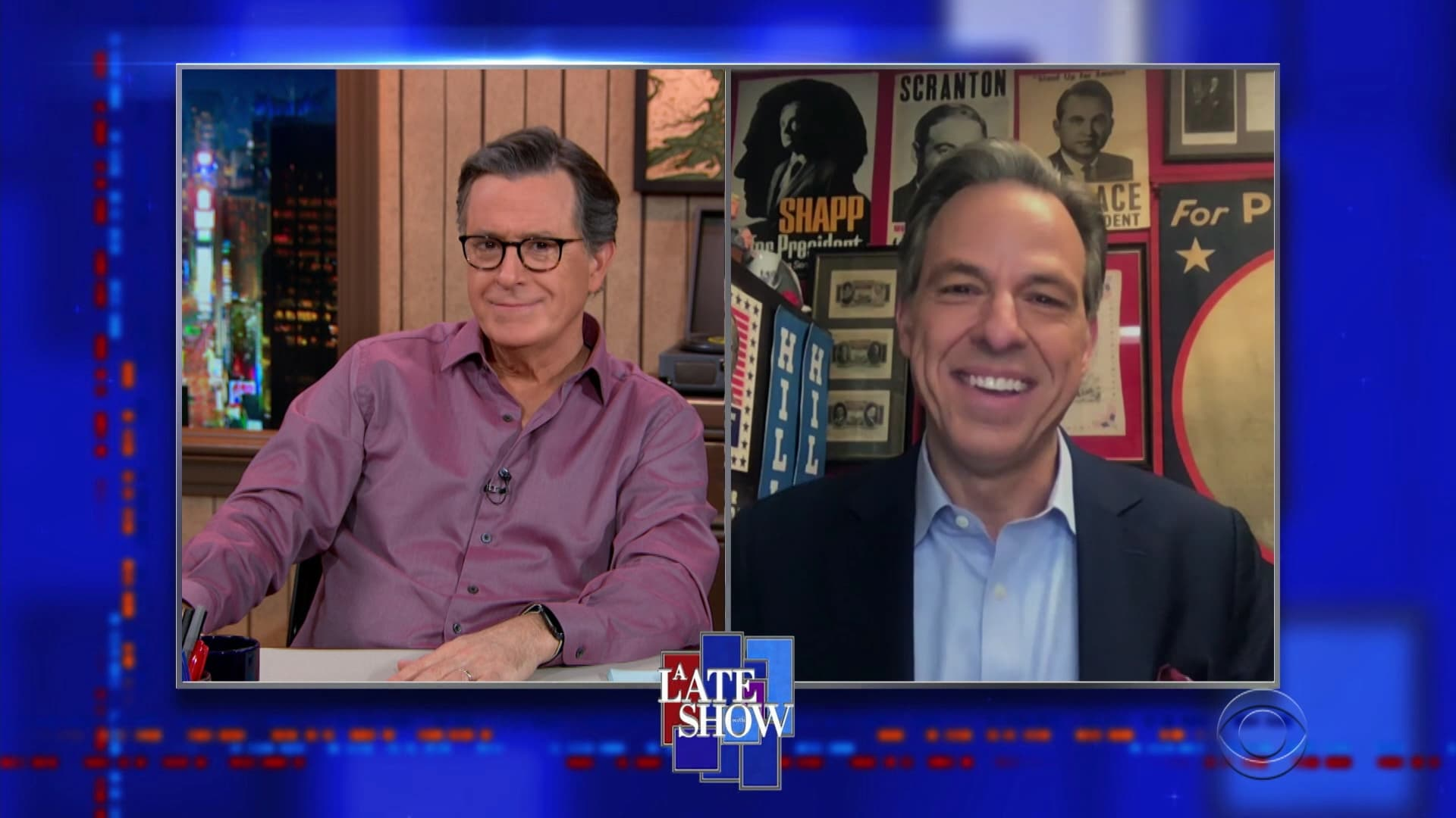 The Late Show with Stephen Colbert Season 6 :Episode 37  Jake Tapper, BENEE
